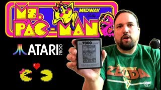 Lets Compare Ms. Pac-Man on the Atari 2600 and 7800