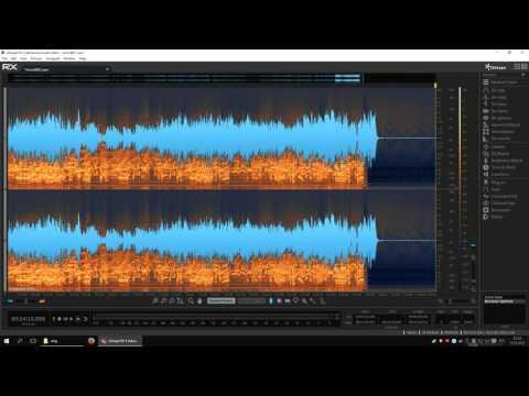 IZotope RX Advanced - быстрое удаление шума с записи