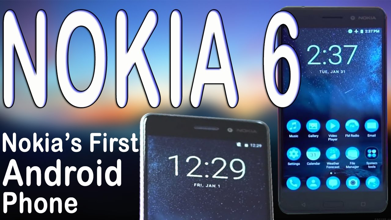 Nokia 6 | Unboxing | Reviews