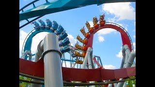 Dueling Dragons / Dragon Challenge Vintage Footage Universal Orlando Islands of Adventure POV