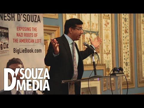 D'Souza shocks audience with actual story of Democrat racism