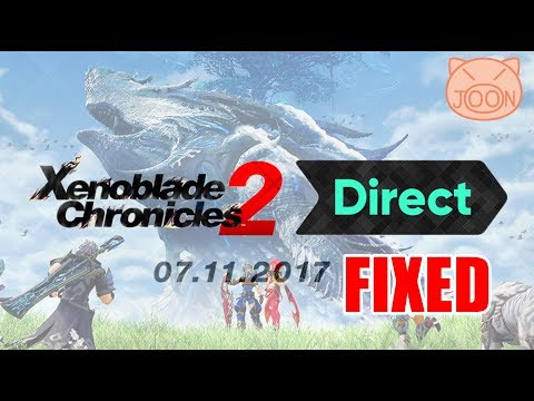 Xenoblade Chronicles 2 Direct Live with PiggyBank (Audio Fixed)