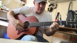 "Fingerpicking ""HOLY"" by FGL Guitar Tutorial 
