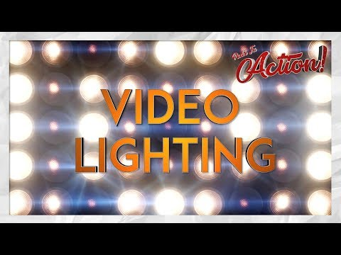 How to Light Your YouTube Videos! | Red's Fx Action!