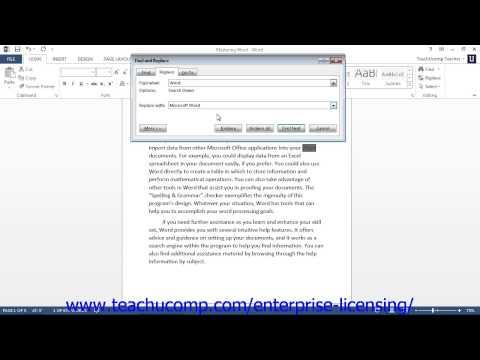 microsoft-office-word-2013-tutorial-basic-editing-skills-3.4-employee-group-training