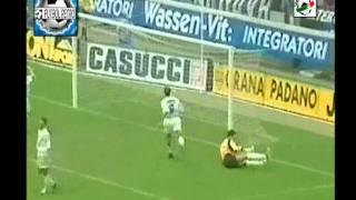 Batistuta vs Ronaldo Inter 3 vs Fiorentina 2 Serie A 97/98 FUTBOL RETRO TV