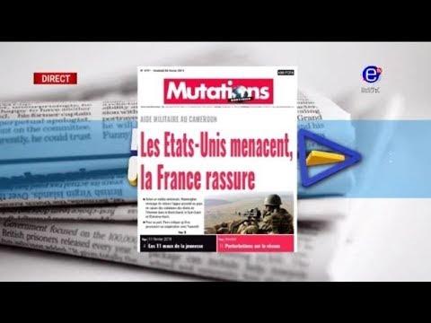 La revue des grandes UNES - les Etats-Unis menacent la France RASSURE