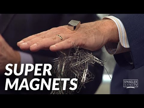 Super Magnets with Steve Spangler on 9News
