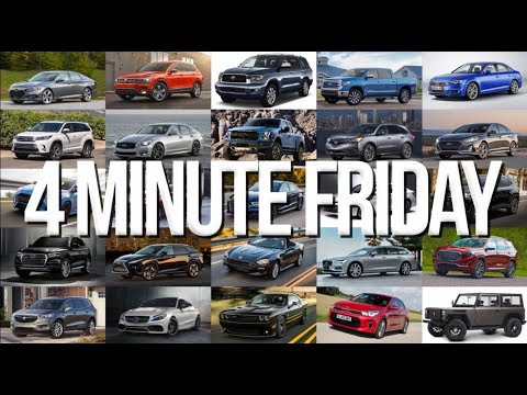 Steel Tarriffs, VW going deisel, and the Geneva Auto Show - 4 Minute Friday (3/9/18)