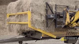 Cosnet agricole - Plateau fourrager semi-porté URANUS SPE