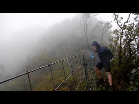 Rain & Wind on the Waianae Summit Trail (WST)