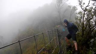 Rain & Wind on the Waianae Summit Trail (WST)