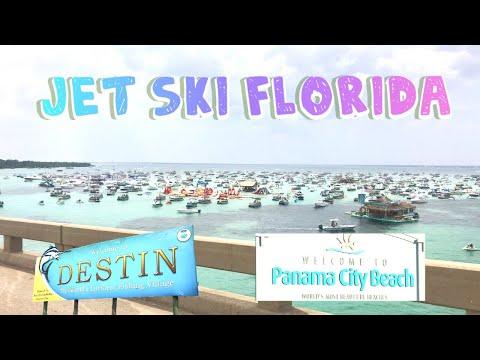 Jet Ski Florida - Destin - Panama City Beach 2019 Seadoo GTX 300