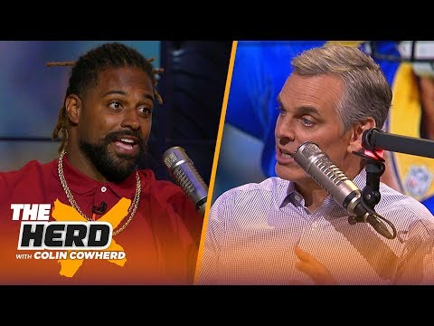 Cam Jordan on his favorite QB to sack, Dak's contract, NFC Championship Game & more | NFL | THE HERD