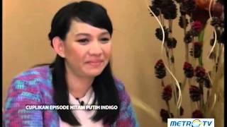 KISAH DIBALIK SUDUT PANDANG : HITAM PUTIH INDIGO  ANNISA SYAWALINA  SUDUT PANDANG METRO TV