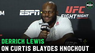 "Derrick Lewis: ""The reason Houston is so cold is because my hot balls aren't there"""
