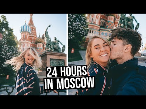 We Spent 24 Hours in Moscow, Russia (not what we expected)