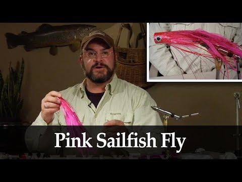 James Warren: Pink Sailfish Fly Pattern