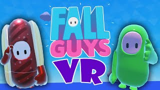 fall guys in VR with the boys (help)