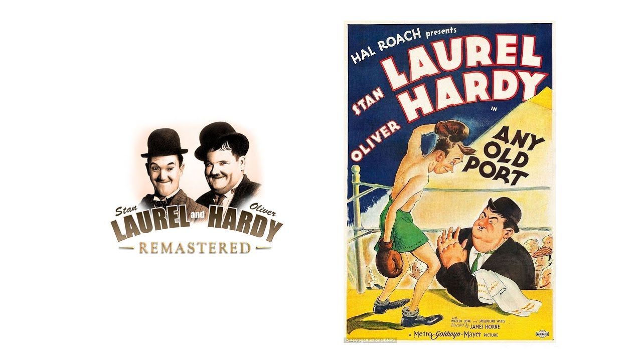 Download Laurel and Hardy - Any Old Port! (1932) REMASTERED in 4K