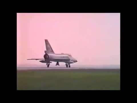 Last 3 Operational F-106s Depart Atlantic City Airport, NJ
