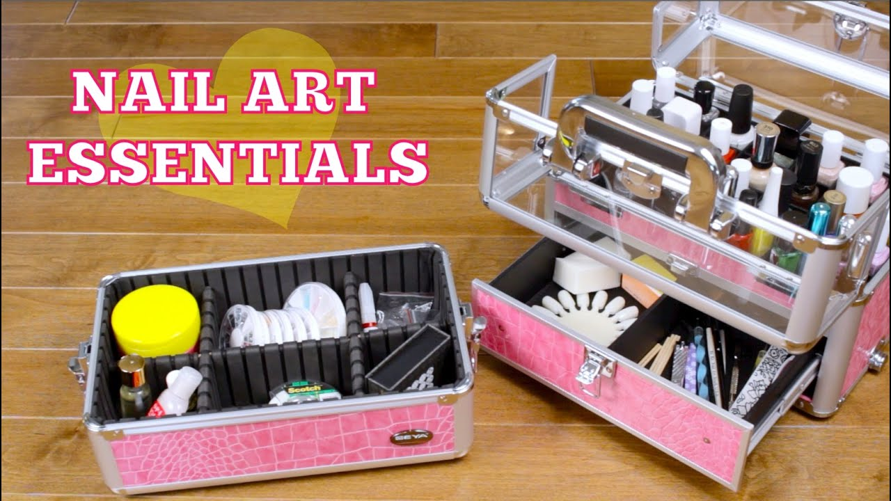 Nail art kit essentials youtube prinsesfo Choice Image