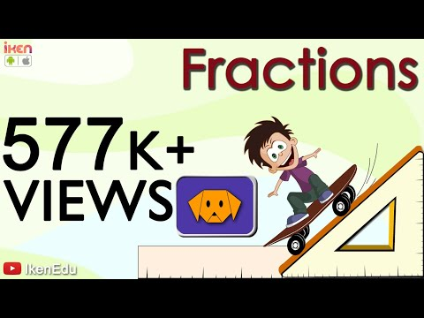 Learn Fractions | Math Video To Learn Fraction And Its Uses