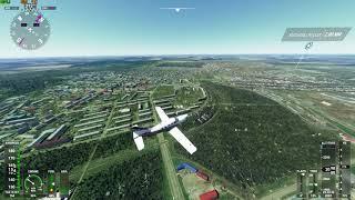г. Кумертау в Microsoft Flight Simulator 2020