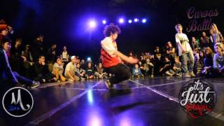 CURVAS BATTLE Bgirl 1 vs 1 FINAL OLI vs CARITO