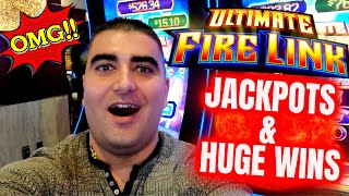 JACKPOTS & HUGE WINS On High Limit Slots | Winning Big Money At Casino