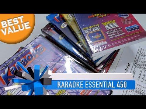 Karaoke Music Package | 4,500 Songs | BEST Professional Karaoke Music