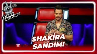 Murat Boz'dan Yarışmacıya Shakira Benzetmesi | O Ses Türkiye 13. Bölüm