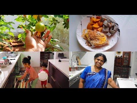 beautiful-monday-vlog---carrot-thoran,-cabbage-peas-poriyal,-pulikulambu,-paruppu---yummy-tummy-vlog