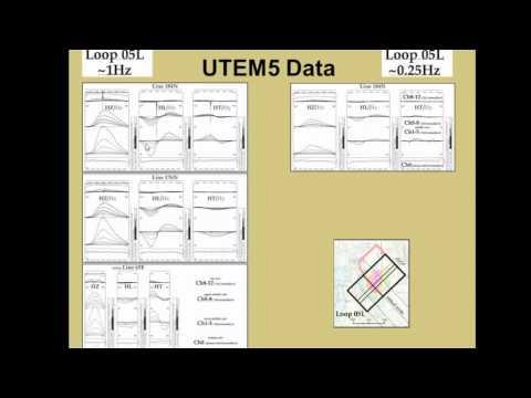 11- UTEM3 and UTEM5 Comparison over the Hudbay Lalor Deposit- Rob Langridge, 2014