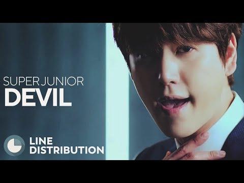 SUPER JUNIOR - Devil (Line Distribution)
