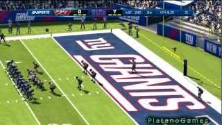 NFL 2012 Week 2 - Tampa Bay Buccaneers (1-0) vs New York Giants (0-1) - 1st Half - Madden