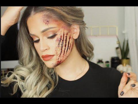 Recreating James Charles & Kylie Jenner Halloween Makeup   Full Detailed Tutorial