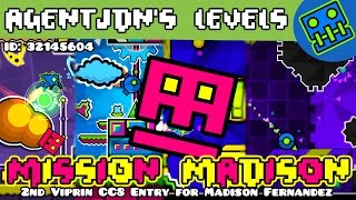 viprin cc8 entry for my crush   geometry dash 2 1 mission madison by agentjdn me   agentjdn
