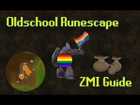 Oldschool Runescape ZMI Guide w/ Timestamps
