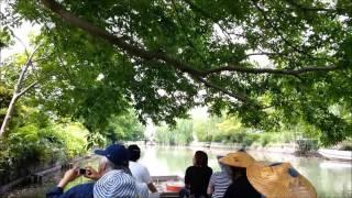 柳川のお堀巡り