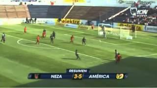 Neza 3 America 5 J5 Torneo Copa C2013 Febrero27 Mina 3 Goles
