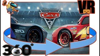☺☺CARS 3☺☺ [vr 360° MOVIE 2017] ♥♥by VR KIDS STUDIO♥♥