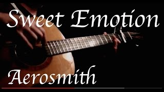Aerosmith - Sweet Emotion - Fingerstyle Guitar