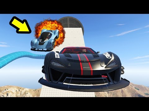 سباق الإنفجار المركز الأخير يتم تفجيره على قراند أونلاين   GTA Online Races