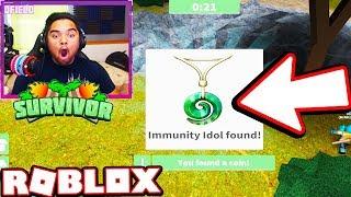 Encontré el IDOL de LA INMUNIDAD!!! | Roblox YOUTUBER Superviviente (S2E1)