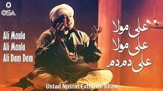 SUBSCRIBE YOUTUBE - http://www.youtube.com/c/OSAIslamic?sub_confirmation=1 Ali Maula Ali Maula Ali Dam Dam | Ustad Nusrat Fateh Ali Khan | official ...