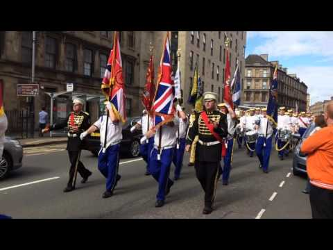 36th Ulster Division Memorial Association Parade 6/8/16 vid 1