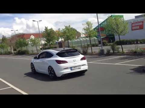 Opel Astra J OPC Exhaust Sound 2