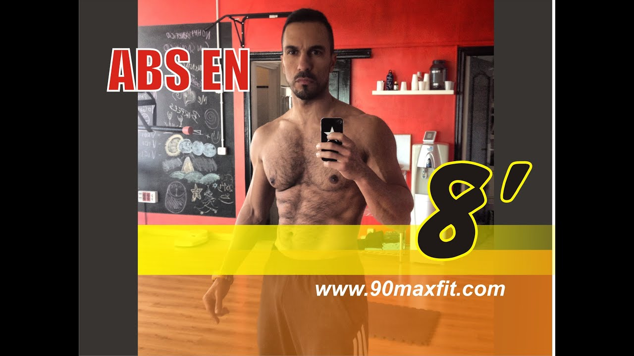 ejercicios abdominales en 8 minutos gymvirtual