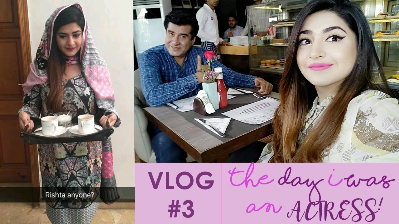Vlog#3 A Day In My Life As An Actress | Lahore Life | Glossips